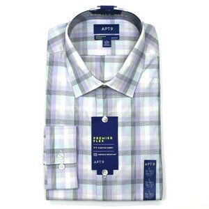 Apt. 9 Slim-Fit Dress Shirt - L 16-16.5, 36/37